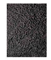 LA Rug Black Plain Rug