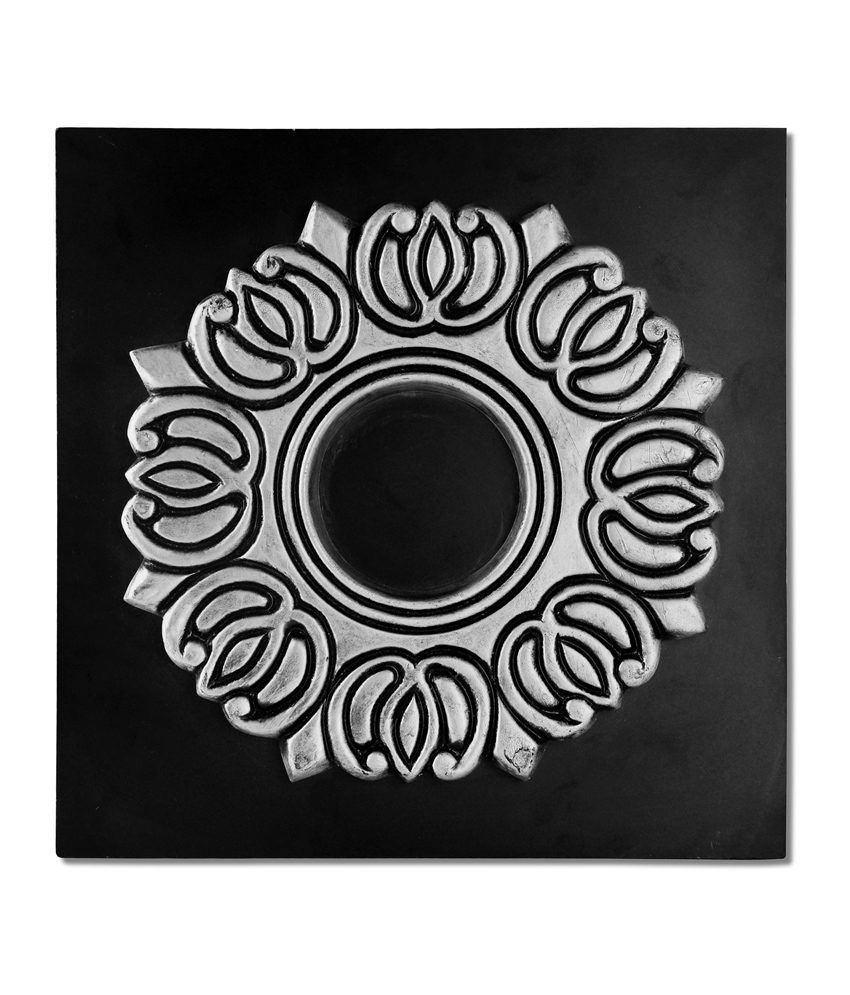 Gifts and Souvenirs Sculptured Black FRP, Laminated Board Wall Hanging