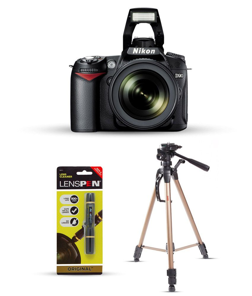 Nikon D90 with 18-105mm Lens Combo (Tripod + Lens Cleaning Kit ...
