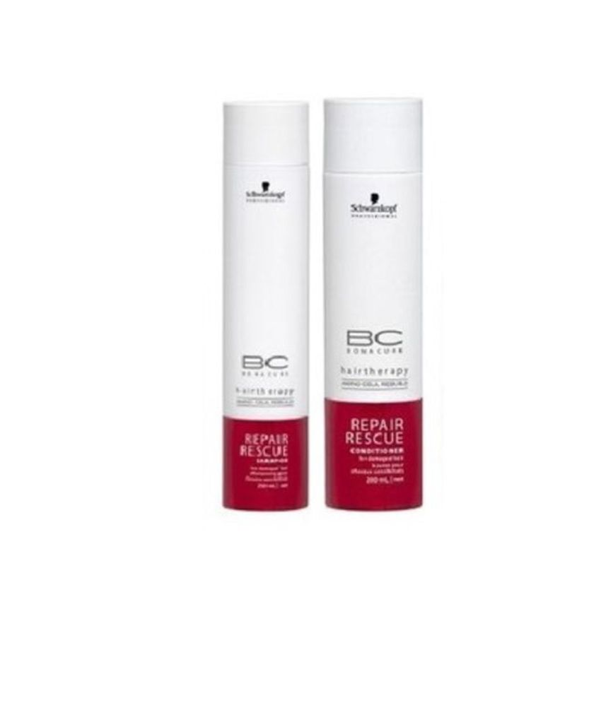 Schwarzkopf Bonacure Repair Rescue Conditioner and Shampoo Combo