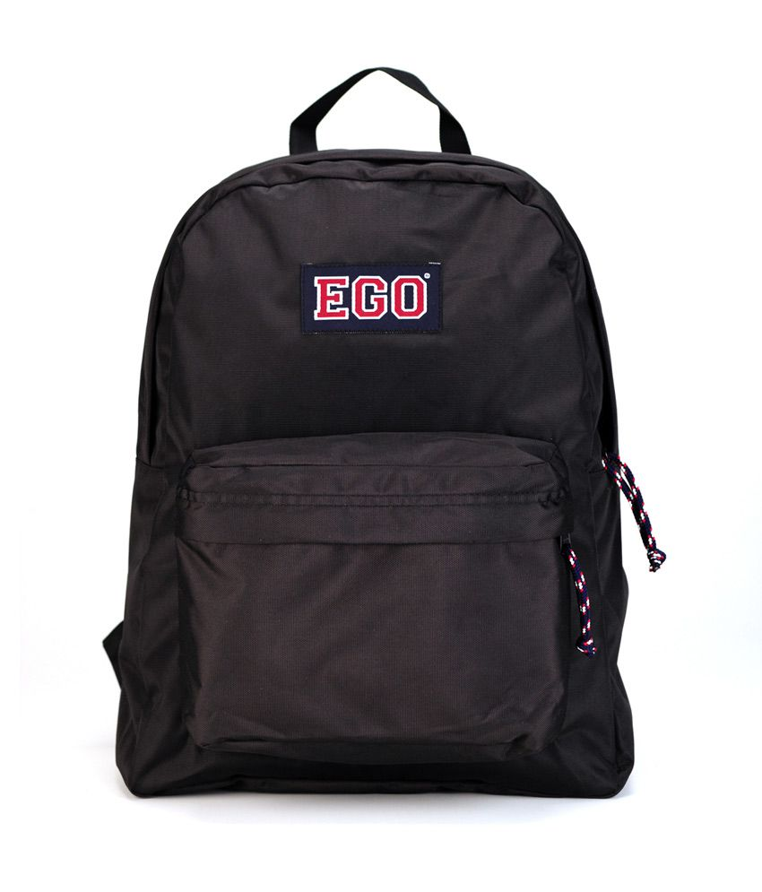7a04d9415575 Ego Black Backpacks - Buy Ego Black Backpacks Online at Low Price - Snapdeal