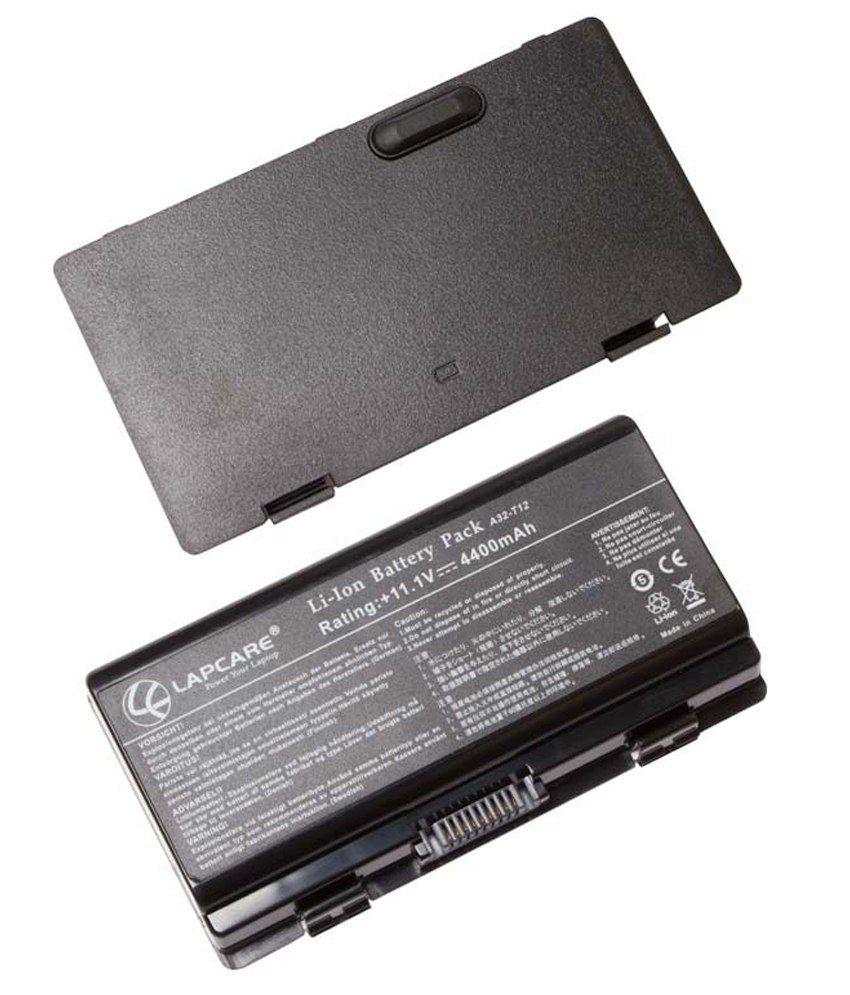 Lapcare Battery for ASUS 90-NQK1B1000Y A32-T12 A32-X51 T12C T12Er T12Jg T12Mg T12Ug X51H X51L X51R X51RL