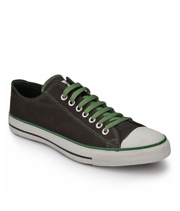 Converse Black & Green Unisex Sneakers