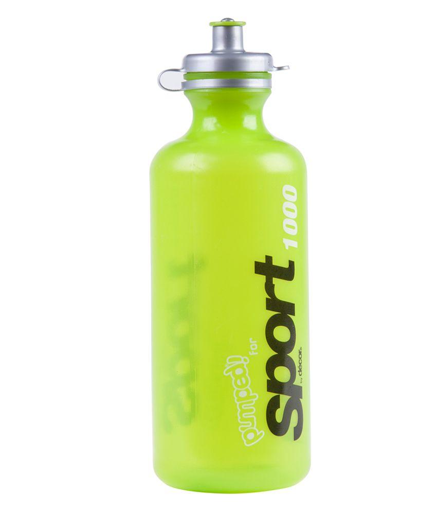 decor pumped sport bottle with pop top 1 l buy online at best decor pumped sport bottle with pop top 1 l