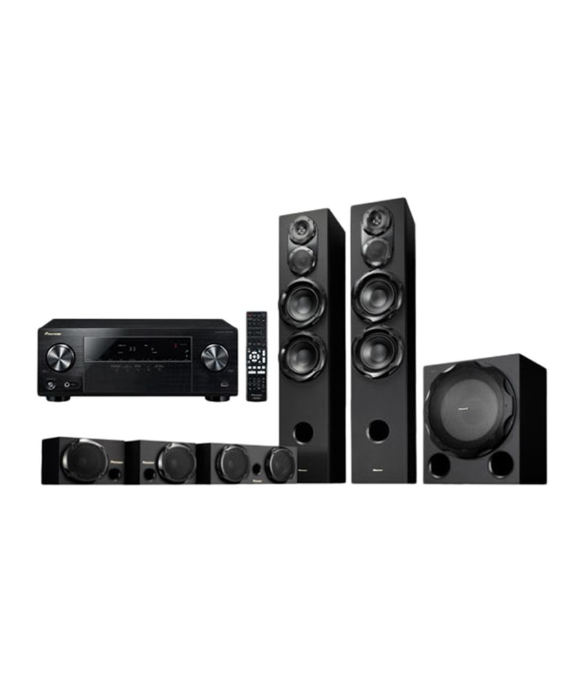 buy pioneer htp rs33 5 1 dvd home theatre system online at. Black Bedroom Furniture Sets. Home Design Ideas