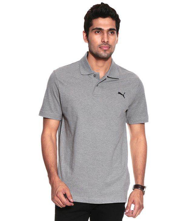 Puma ESS Polo medium gray heather