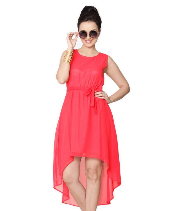 c953d3527e9 Miss Chase Pink Midi Shift Dresses For Women Sleeveless Round Neck Casual  Wear - Buy Miss Chase Pink Midi Shift Dresses For Women Sleeveless Round  Neck ...