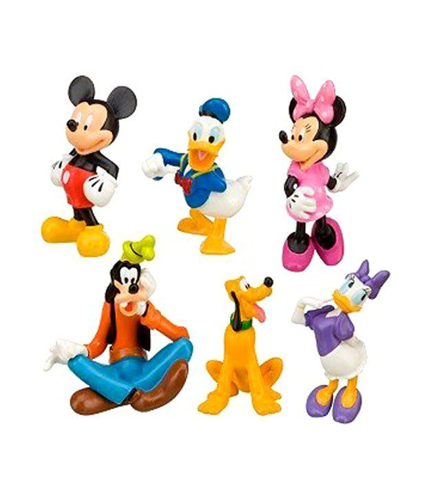 9dc273de4ef Disney Mickey Mouse Clubhouse Figure Play Set - 6 Pc Baby Toys - Buy Disney  Mickey Mouse Clubhouse Figure Play Set - 6 Pc Baby Toys Online at Low Price  - ...