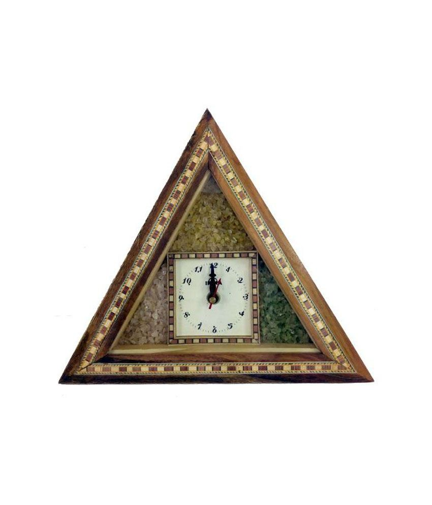 R s jewels wall watch clock multi color wooden traditional buy r s jewels wall watch clock multi color wooden traditional amipublicfo Choice Image