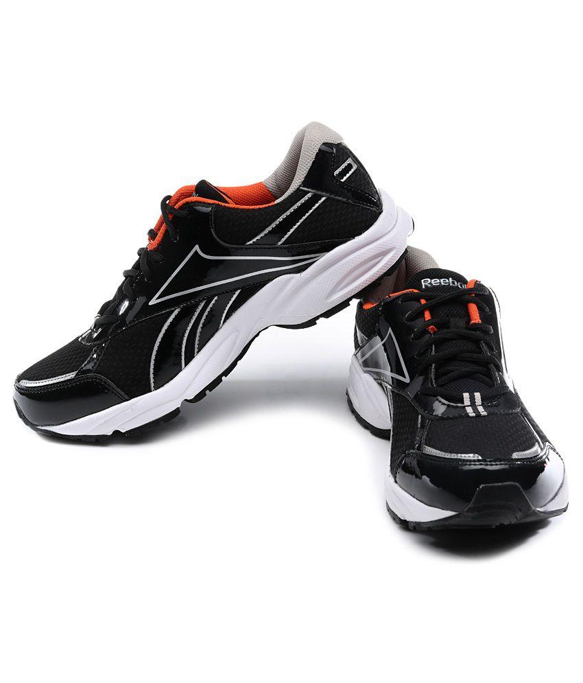 259c034bbae Reebok Luxor Lp Black Running Shoes Art RBV61197BLKSIL - Buy Reebok ...