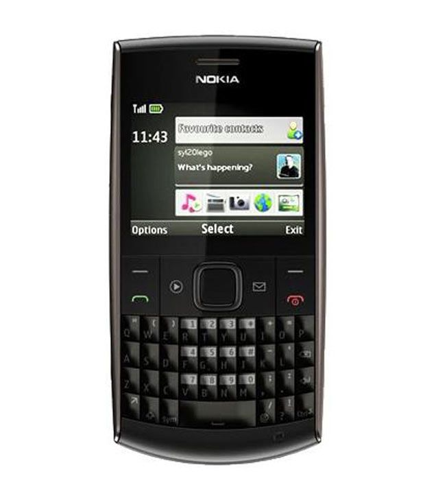 Nokia X2 01 D Grey Mobile Phones Online At Low Prices Snapdeal India