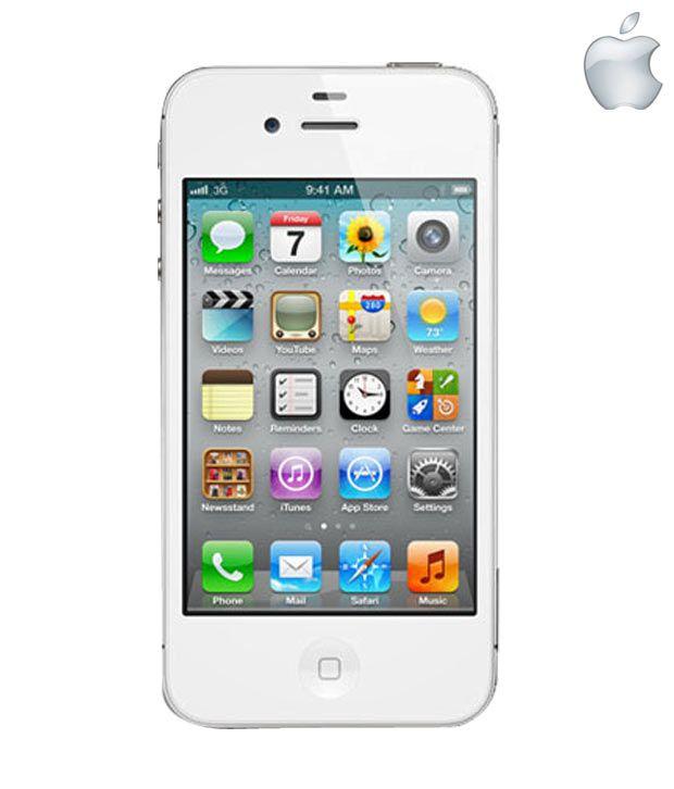 Apple iphone 4s ( 64GB , 512 MB ) White