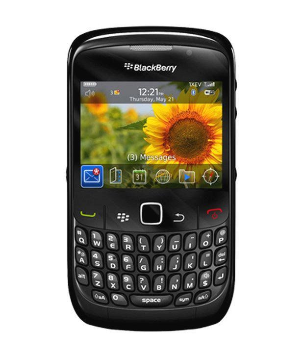 Blackberry 8530 Reliance Black