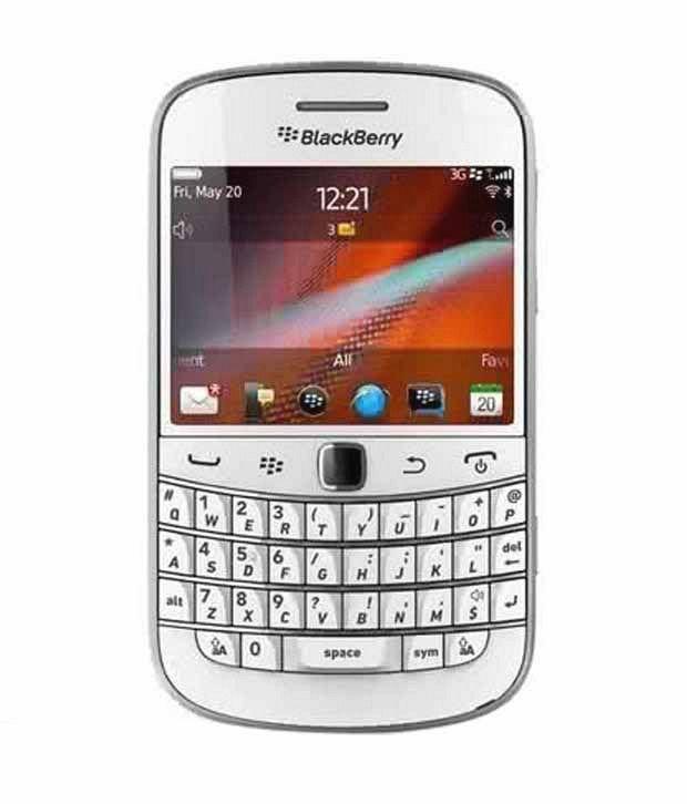 Blackberry Bold 4 9900 White