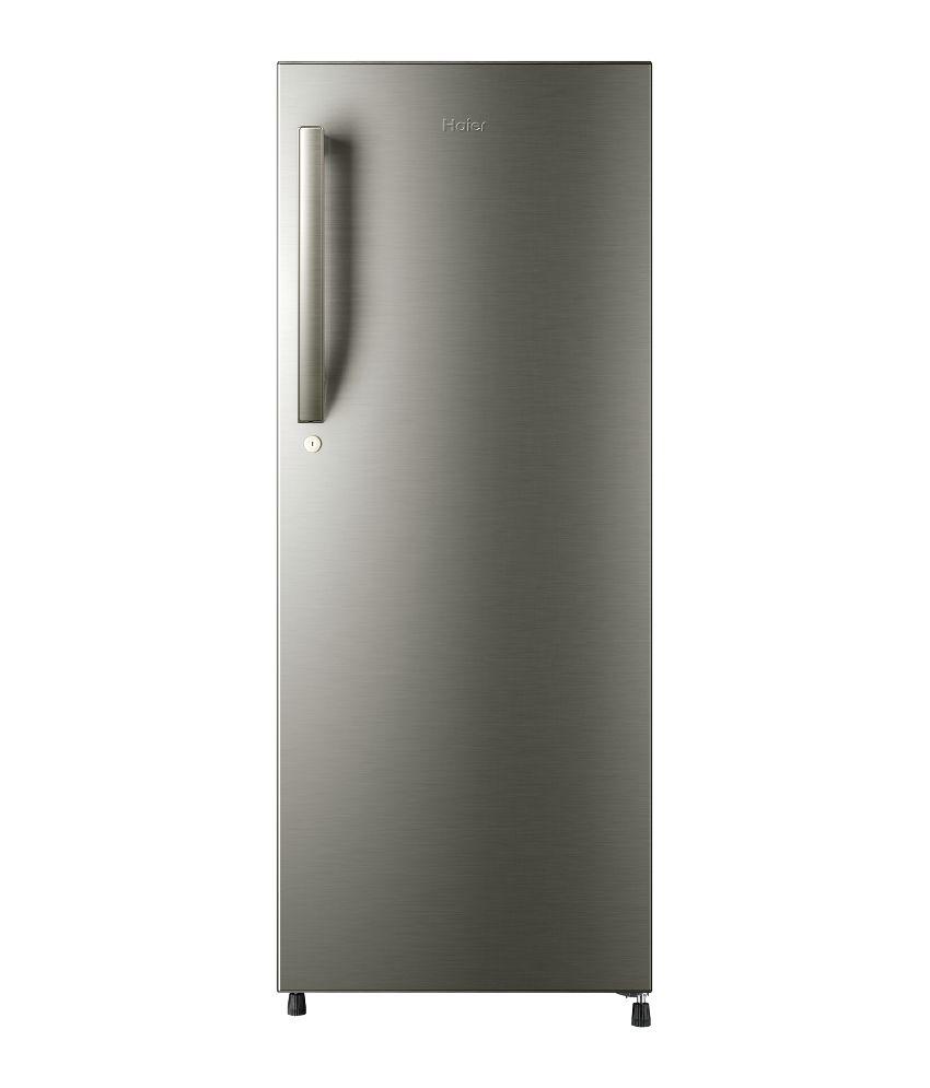 Haier 220 ltr 5 star hrd 2405bs direct cool refrigerator for 1 door chiller