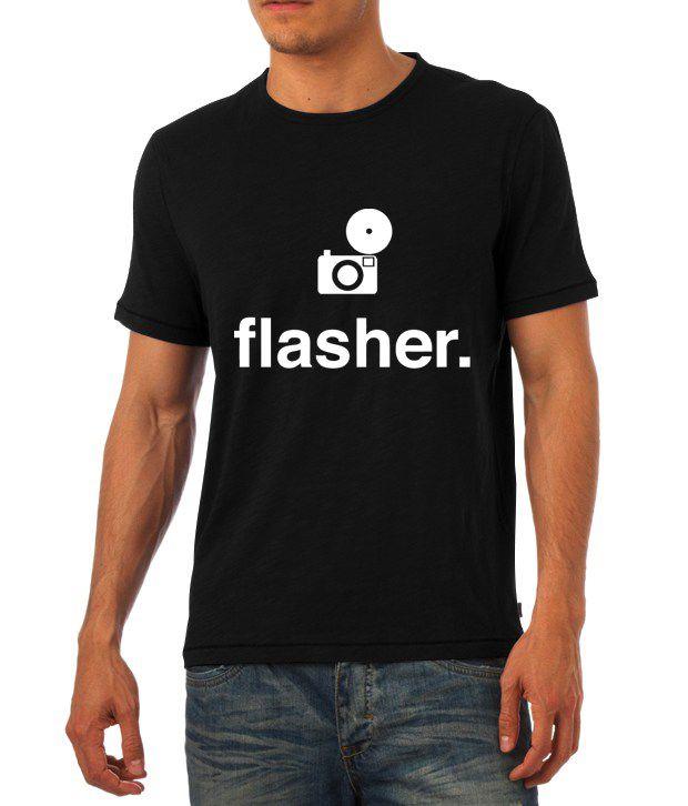 Flasher Photography Minimal T Shirt