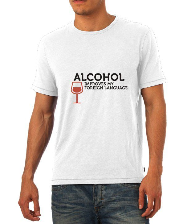 Alcohol - The English Teacher T Shirt