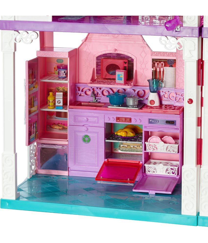 barbie dream doll house rh snapdeal com