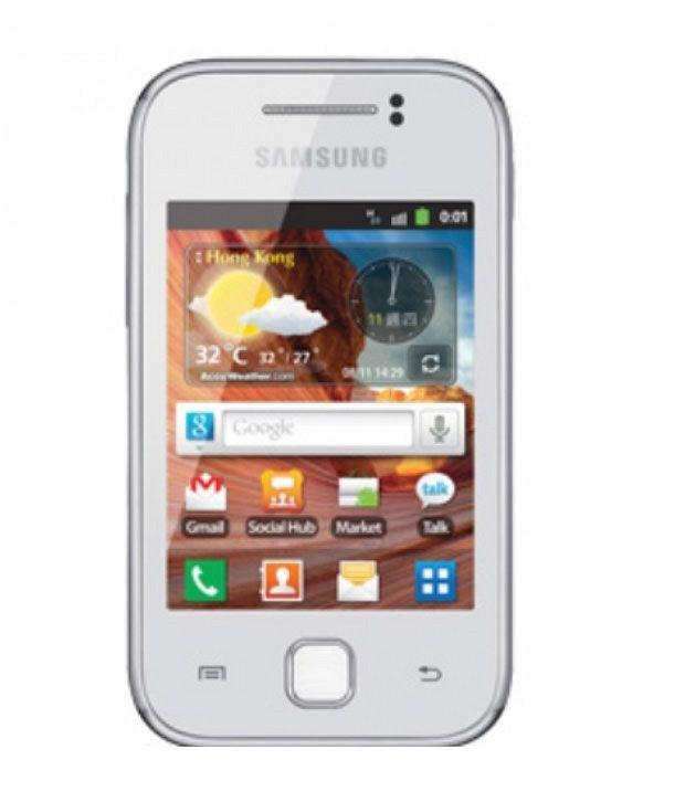 Samsung Galaxy Y S 5360 White