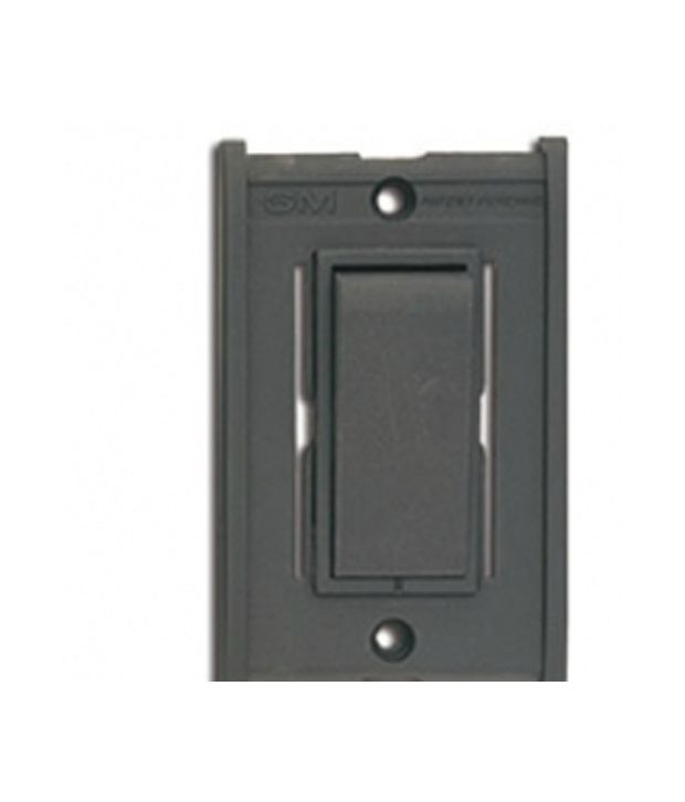 Buy Gm Modular 1 Way Switch 16ax 240v Ac Online At Low