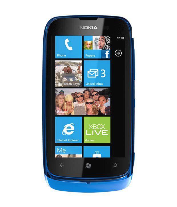 Nokia Lumia 610 (Cyan)