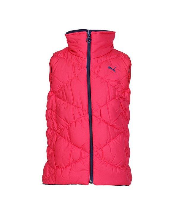 Puma Pink Vest For Girls