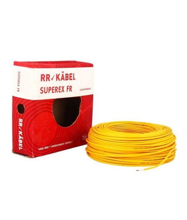 Unika Buy RR Kabel PVC Insulated Single Core Cables 2.5mm Yellow Online JO-41