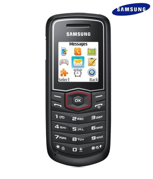 Samsung Guru E1081 (Black)