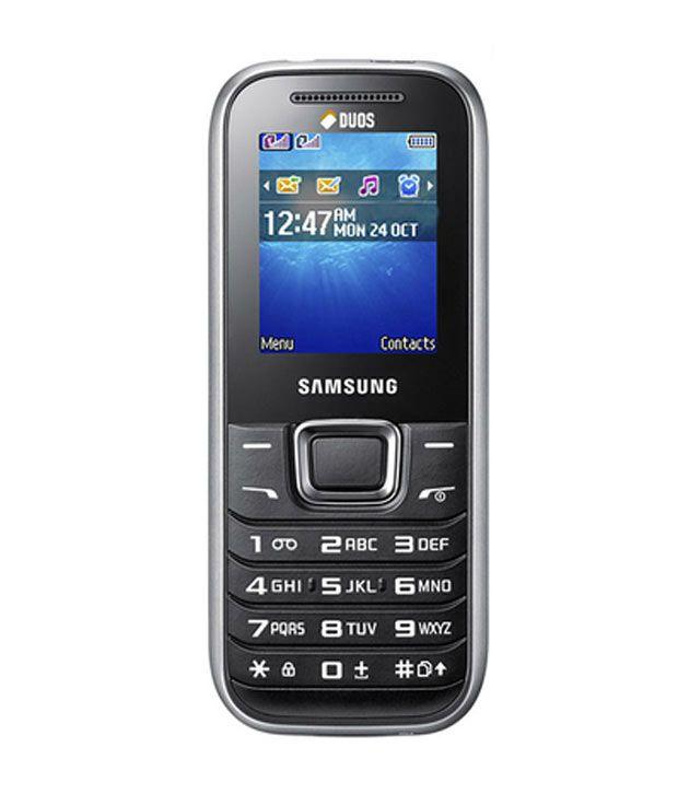 Samsung Hero E1232 Titanium Silver