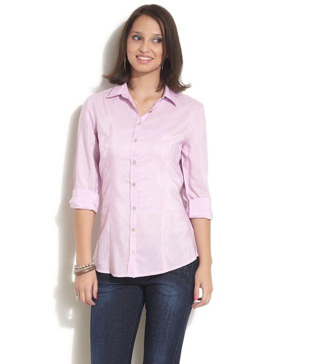UCB Pink Cotton Shirt