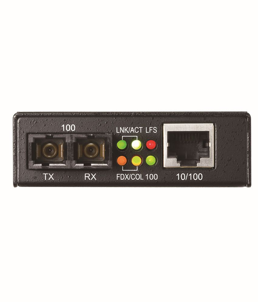 Zyxel 10/100TX to 100FX (SC) Media Converter, 2km