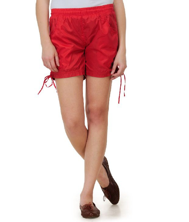 DAZZGEAR Red Polyester Short Regular