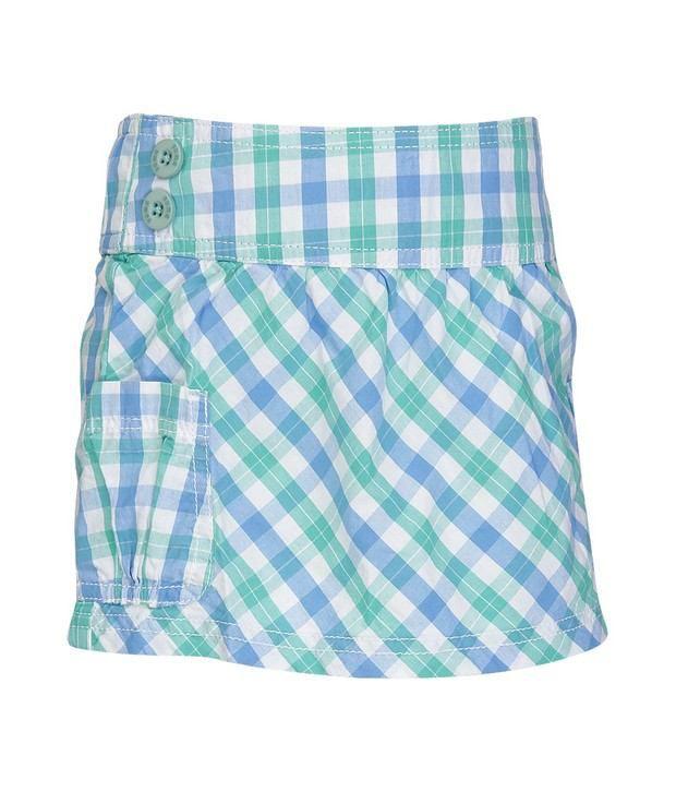 Puma Green Skirt For Girls