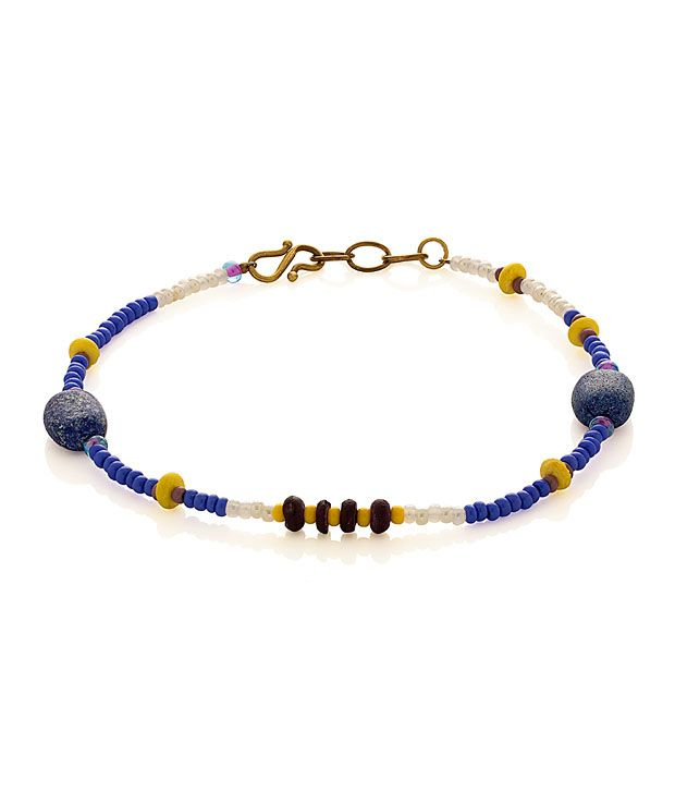 Voylla Anklet Featuring Bold Beads