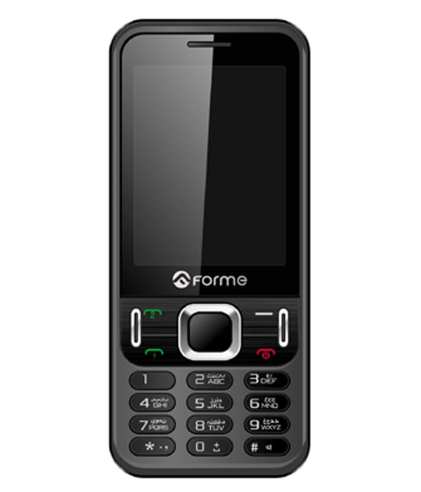 Forme D815 32MB Dual SIM Mobile Phone Black