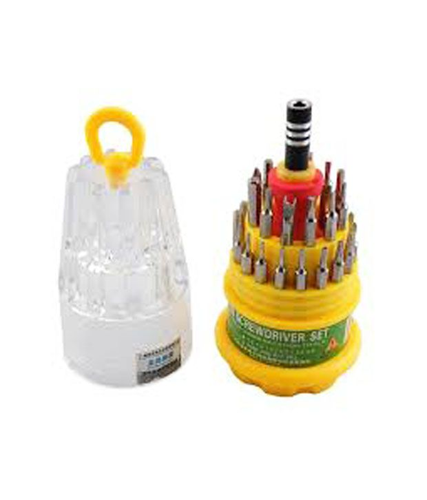 Solution Wala - Jackly 31 in 1 Magnetic Screwdriver Tool Kit