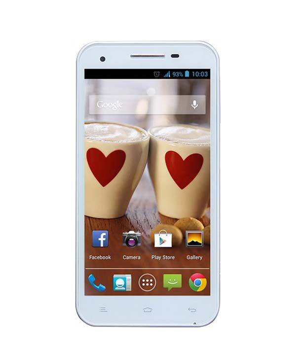 Gionee ( 4GB and Below , 512 MB ) White