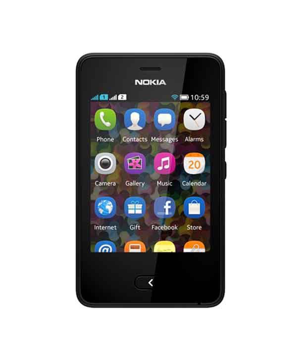 Nokia asha 501 ( 4GB and Below , 1 GB ) White