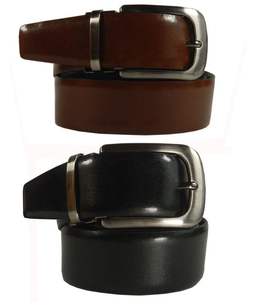SilverBull Multi Formal Reversible Belt Men