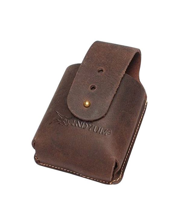 Indyum Phone Pouch Terrain Collection - Deep Brown