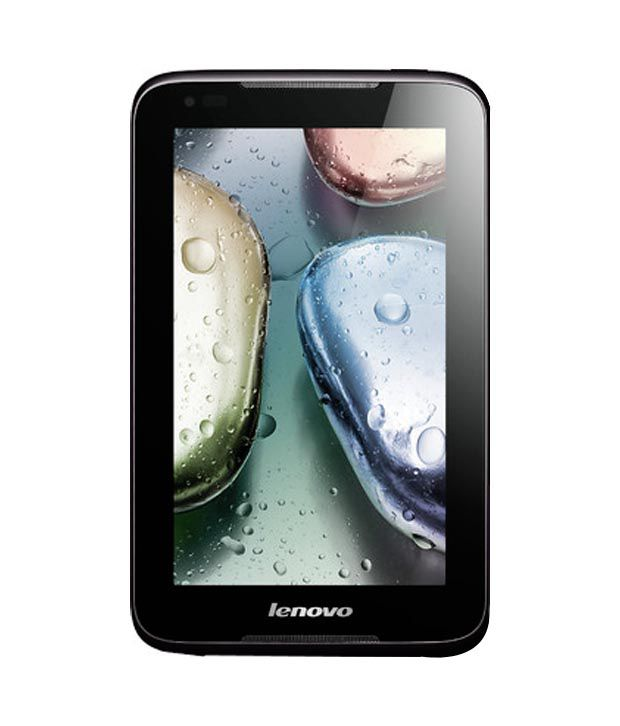 Lenovo A1000 (2G + Wifi, 2G Voice Calling, Black) - Tablets Online at Low Prices | Snapdeal India