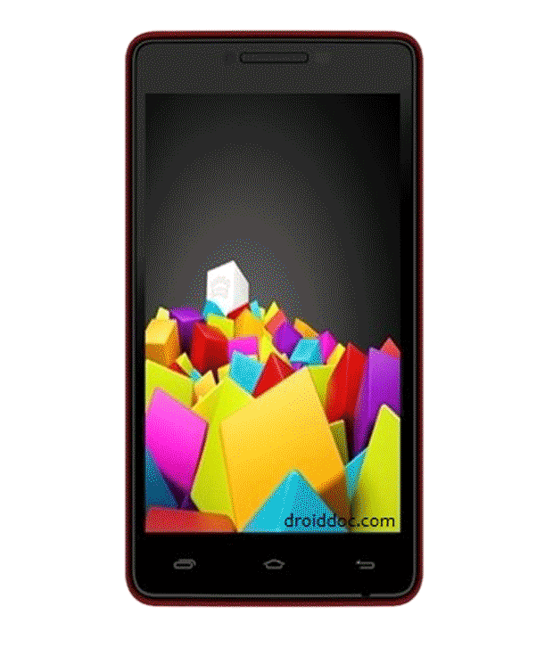 Micromax Canvas Fun A76 (Red)