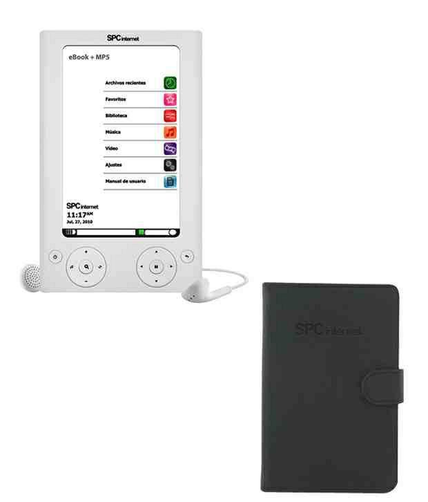 Spc 5505 4Gb E-Book Reader (White)