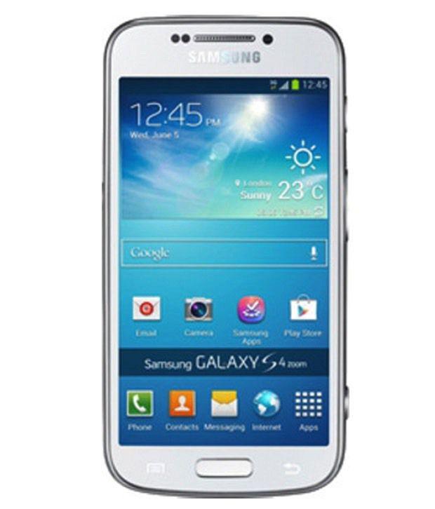 Samsung Galaxy S4 Zoom SM C1010 8GB Blue