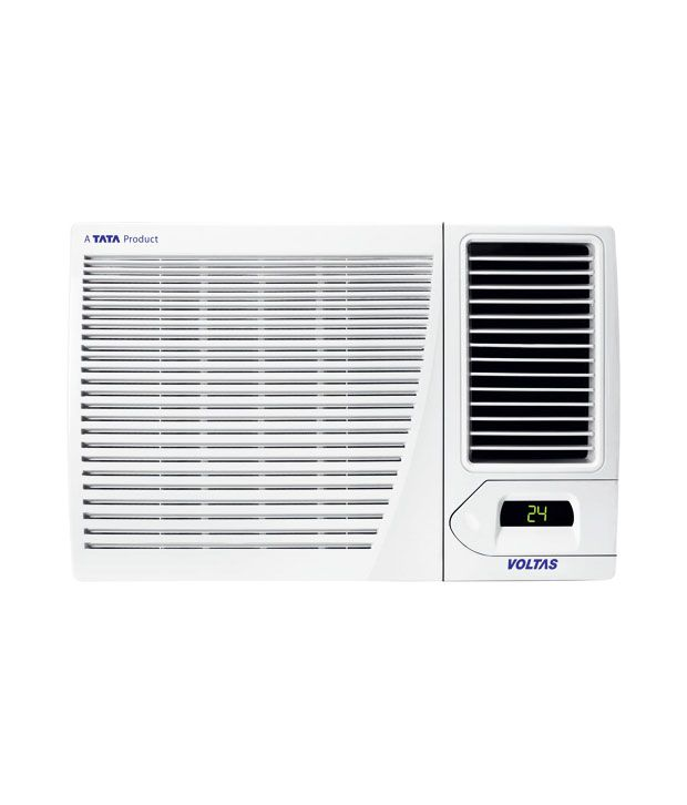 Voltas 1 5 ton 2 star wac 182 cx window air conditioner for 15 width window air conditioner