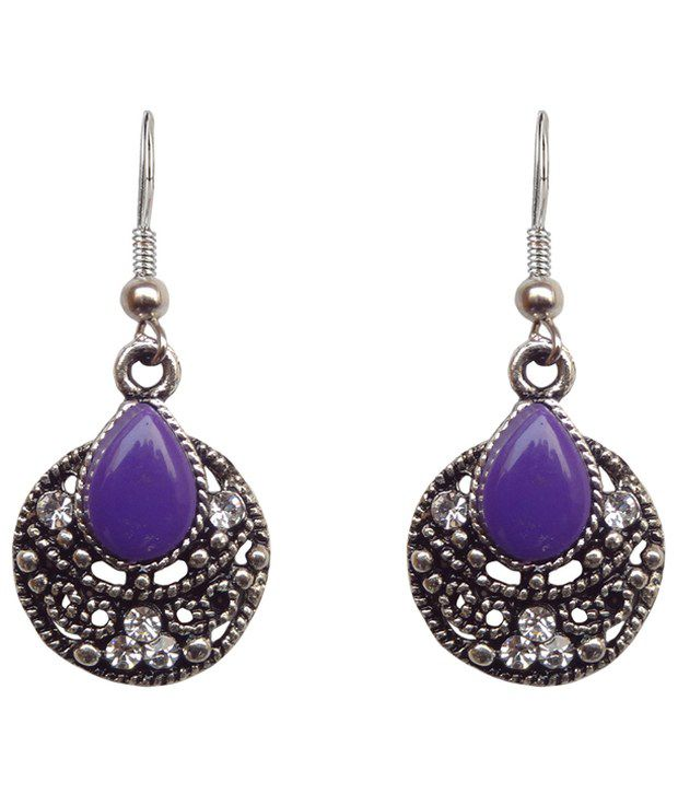 Hi Look Drop Earring with Stone