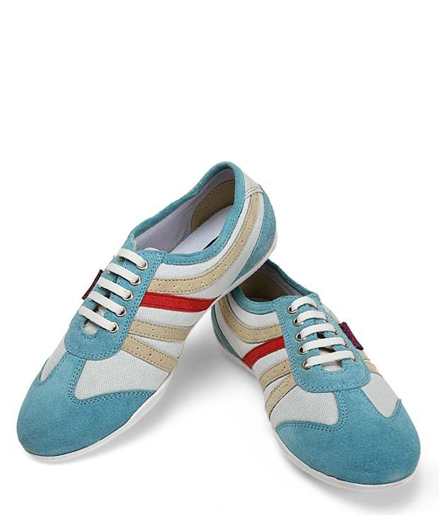 La Briza Blue Casual Shoes