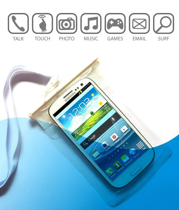 the latest 5b386 16542 Xtra Waterproof Mobile Cover - Plain Back Covers Online at Low ...