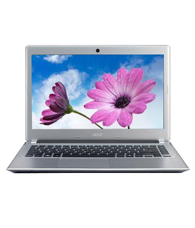 Acer Aspire V5 431 Laptop (2nd Gen PDC/ 2GB/ 500GB/ Win7 HB/ 128 MB Graph) (NX.M2SSI.001)