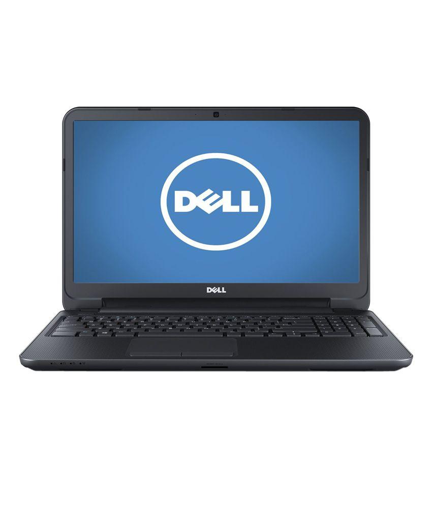 Dell Inspiron 15 3521-TS (Core i3 3217 U - 4GB RAM- 500GB Hard Disk Drive- 39.62cm (15.6) HD TS Screen- Win 8.1, 64-Bit- 1 GB Dedicated Graphics) (Black)